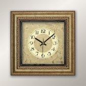 Regal 1383 GG Gold Çerçeve Duvar Saati