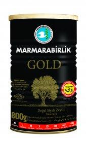 Marmarabirlik Gold %2,5 Az Tuzlu Siyah Zeytin 800 Gr. (Xl)