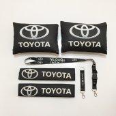 Toyota Siyah Boyun Yastık Seti