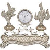 İSMİ CELİL (Allah) -İSMİ NEBİ ( Muhammed ) Lafzlı Masa Üstü Saat-2