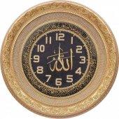 TAM TAŞLI Lüks Duvar Saati Ayetel Kürsi ve Allah(c.c.) yazılı 56-2