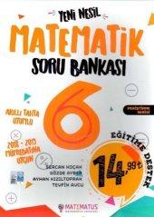 6.sınıf Matematik Yeni Nesil Soru Bankası Matematus Yayınları