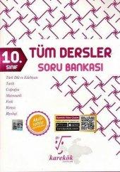 10.sınıf Tüm Dersler Soru Bankası Karekök Yayınları
