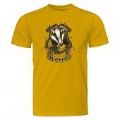 Harry Potter Hufflepuff Sarı Tişört