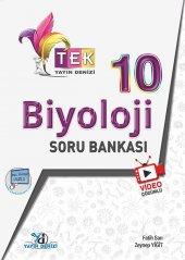10. Sınıf Tek Serisi Video Çözümlü Biyoloji Soru Bankası