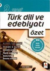 9. Sınıf Türk Dili Ve Edebiyatı Özet Delta Kültür Yayınları