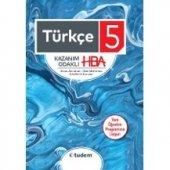 5.Sınıf Türkçe Kazanım Odaklı HBA Tudem Yayınları
