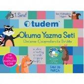 1.sınıf Okuma Yazma Seti Tudem Yayınları