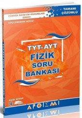TYT AYT Fizik Tamamı Çözümlü Soru Bankası Apotemi Yayınları