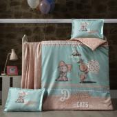 Luoca Patisca Ranforce Bebek Nevresim Takımı Artus Ptsc011