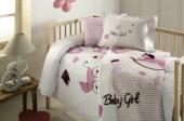 özdilek Bebek Battaniyeli Nevresim Takımı Baby Girl Pembe Bbk004