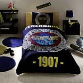 Lisanslı Fenerbahçe Marşlı Logo Nevresim Takımı Nevresim Takımı F