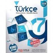 7. Sınıf Türkçe Konu Kitabı Nitelik Yayınları