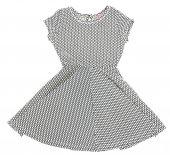 Beyaz Puantiyeli Elbise Kod 206