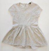Gri Kız Bebek Elbise Kod 109