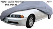 Bmw 5 Serisi E60 2004-2010 Aracına Özel Oto Brandası 4 Mevsimlik