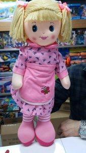 Oyuncak Bez Bebek 50 Cm Arılı Pembe Elbiseli