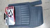 Chevrolet Cruze Uyumlu Pufi Pro-Fit Havuzlu 3D Bariyerli Paspas Takımı Şaft üstülü Gri