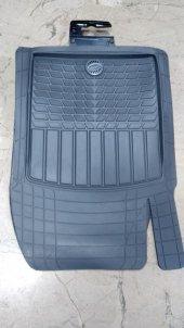 Chevrolet Cruze Uyumlu Pufi Pro-Fit Havuzlu 3D Bariyerli Paspas Takımı Şaft üstülü Gri-2