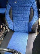 Fiat Doblo 2001-2009 5 Kişilik Araca Özel Koltuk Kılıfı Mavi Renk-2