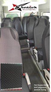 Peugeot J9 2+1 (3 Kişi) Servis Araçları için Minibüs Koltuk Kılıfı-2