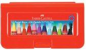 Faber Castell 125112 Altıgen Pastel Plastik Kutu 12' Li