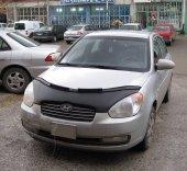 Hyundai Accent Era 2006-2012  Kaput Koruyucu Deri Maske-2