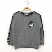Toontoy Erkek Çocuk Sweatshirt Kol Üstü Şerit