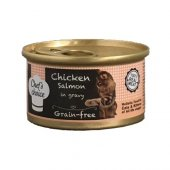 Chefs Choice Gravy Tavuklu Somonlu Tahılsız Kedi Y...