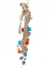 Eastland ahşap oyuncaklı kuş tüneği 15/56 cm