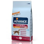 Advance Lamb Rice Kuzu Etli Yetişkin Köpek Maması ...