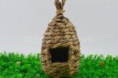 Eastland Kuş Yuvası, Örme Doğal Kuş Evi 25 Cm*15 C...