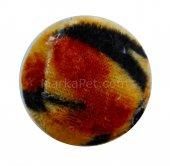 Karlie Sesli Kedi Oyun Topu (Kedi Otlu) Leopar Desenli 4 cm