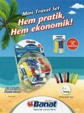 Banat Seyehat Diş Fırçası Ve Diş Macunu 40lı Set