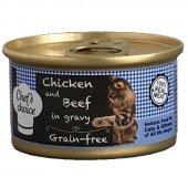 Chefs Choice Gravy Tavuklu Biftekli Tahılsız Kedi ...