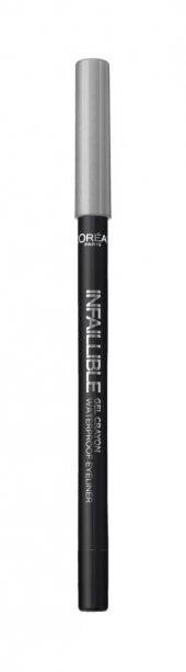 Loreal Paris Waterproof Crayon Eyeliner 07 Silver