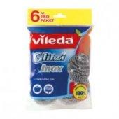Vileda Çelik Bulaşık Süngeri 6 Lı