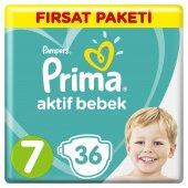 Prıma Aktif Bebek Fırsat 15+ Kg 36lı No 7