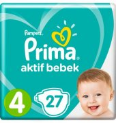 Prıma Aktif Bebek Ikiz Maxi 7 14kg 42li No 4