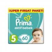 Prıma Aktif Bebek Süper Fırsat 11 16 Kg 60lı No 5