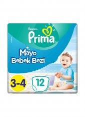 Prıma Mayo Bebek Bezi 6 11kg No 3 4 12li