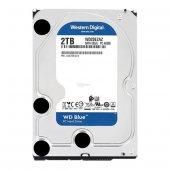 """WD 2TB Blue Sata 3.0 5400RPM256MB 3.5"""" Dahili Disk WD20EZAZ"""