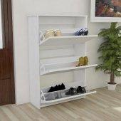 Alkur home line Ayakkabılık Düşer Kapak 18 çift ayakkabı, terlik