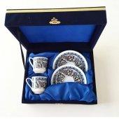 Güral Porselen Topkapı Kahve Fincan Takımı 4 Parça
