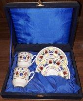 Güral Porselen Altınyaldız Kahve Fincan Takımı 4 Parça