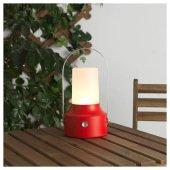 ıkea Ledli Güneş Enerjili Fener, Kırmızı