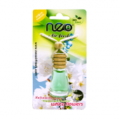 Neo Air Fresh White Flowers Cam Şişe İpli Oto Kokusu 12 Ml
