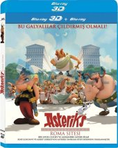 Asteriks Roma Sitesi 3d Blu Ray Tek Disk