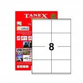 Tanex 105x72mm Laser Etiket 100lü (Tw 2408)