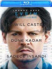 Transcendence Evrim Blu Ray